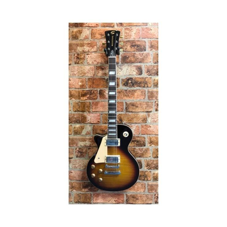 Soundsation Milestone Les paul Left handed Les paul VSB-FM guitar