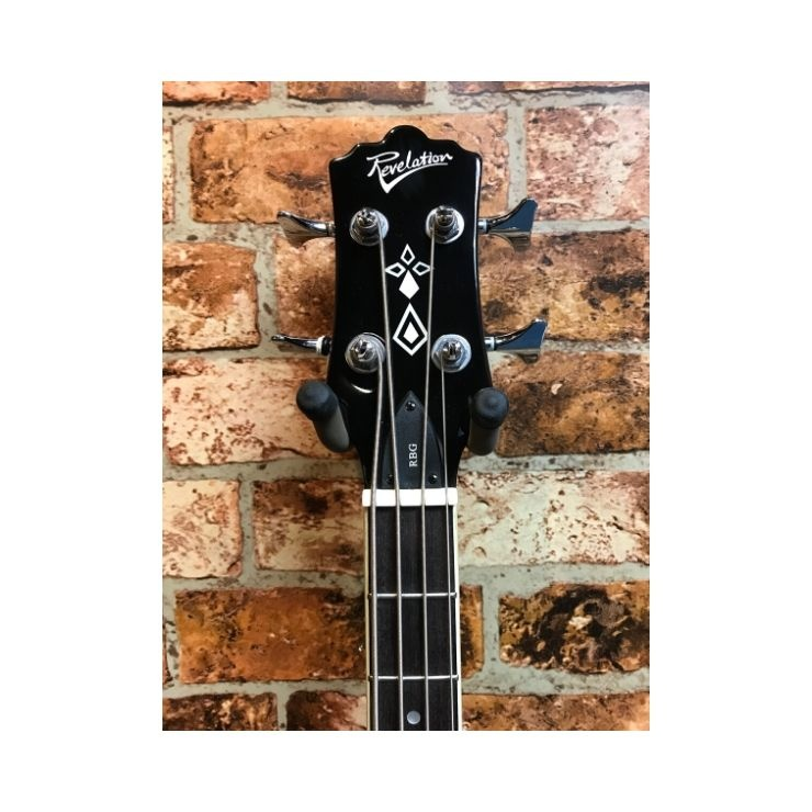 Revelation Revelation RBG Semi Acoustic Bass Guitar (Vintage Sunburst)