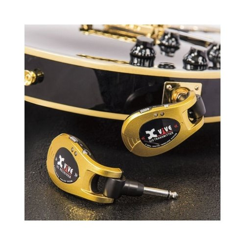 XVIVE Xvive Guitar Wireless System- Gold