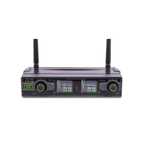 Q Mic Q Audio QWM 1950 HH + BP Wireless Mic System