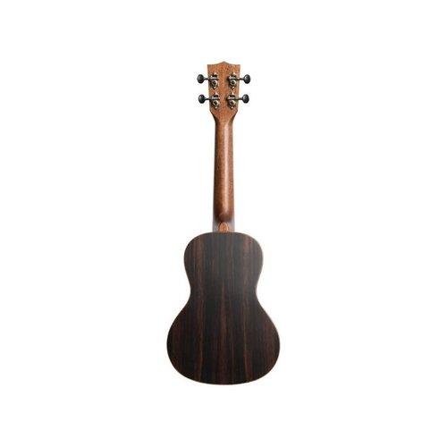 Kala Kala KA-SSEBY-C Solid Spruce Ebony Concert Ukulele
