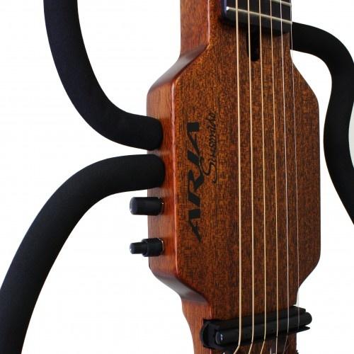S/H Aria Silent Guitar