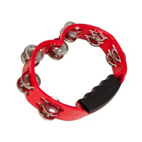 TYCOON Tycoon Percussion TBH-RBS Hand Held Tambourine Red