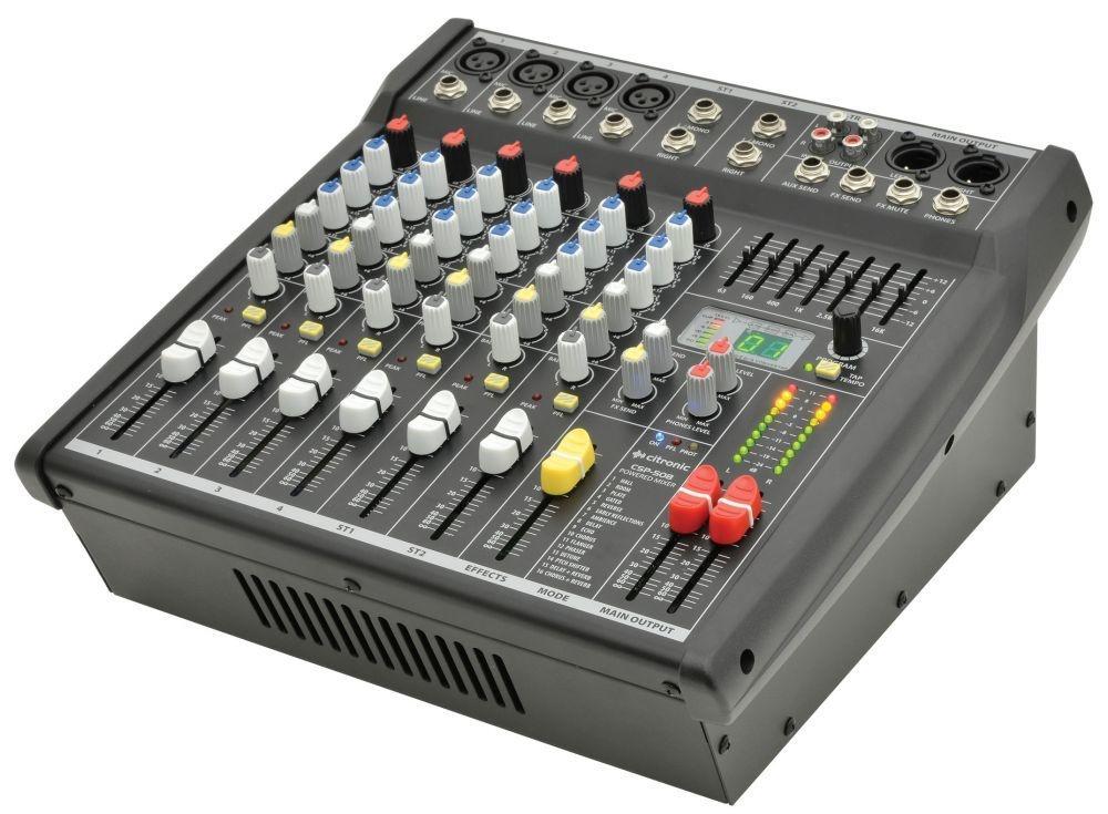 citronic CSP-408 400 Watt mixer amp