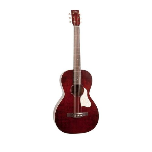 Art & Lutherie Art & Lutherie Roadhouse Parlour Acoustic Guitar Tennessee Red