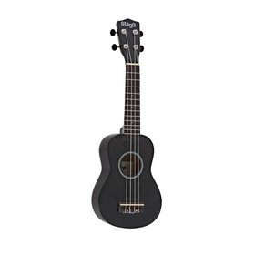 Stagg Stagg Soprano Ukulele & Bag (Black Night)