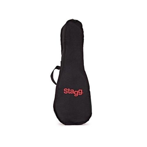 Stagg Stagg Soprano Ukulele & Bag (Black Night)