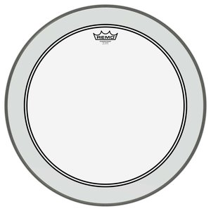 "Remo Remo Powerstroke 3 Clear 22"" Dot Bass Drum Head"