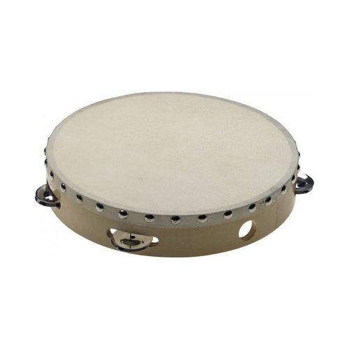 "Stagg Stagg 10"" Pre-tuned Wooden Tambourine"