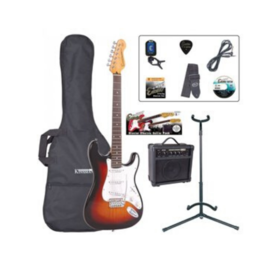 ENCORE Encore Electric guitar pack with 10 watt BB Blaster