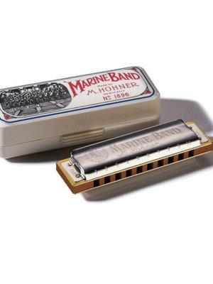 Hohner Hohner Marine Band 1896 Classic Harmonica, Key Of A