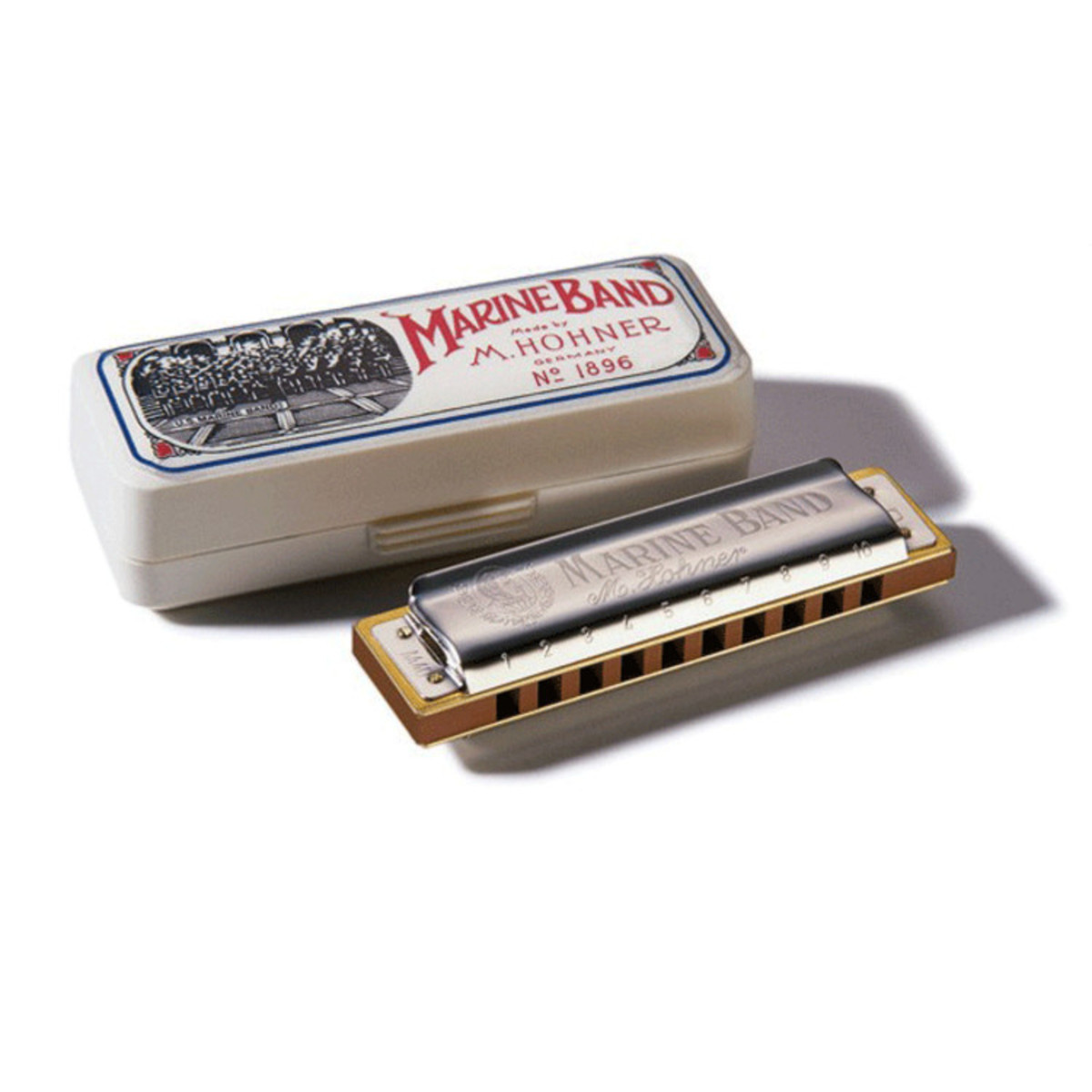 Hohner Hohner Marine Band 1896 Classic Harmonica, Key Of A