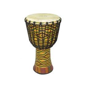 "TYCOON Tycoon Percussion TFAJ-8K K Finish Fibreglass Djembe 8"""
