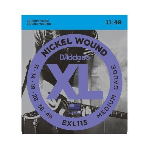 D'addario D'Addario EXL115 Electric Guitar Strings