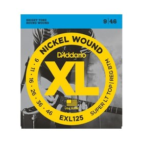 D'addario D'Addario EXL125 Electric Guitar Strings (9-46)