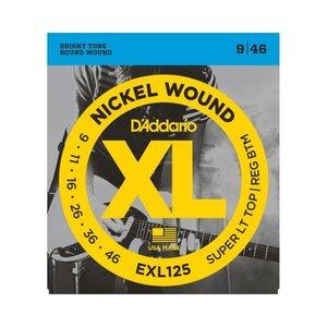 D'addario D'Addario EXL125 Electric Guitar Strings (9-46)