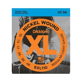 D'addario D'Addario EXL110 Electric Guitar Strings (10-46)