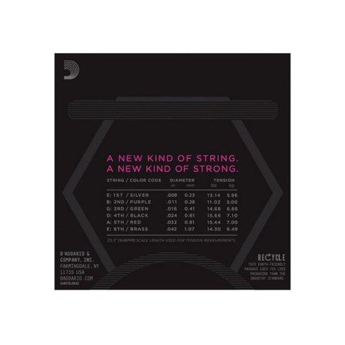 D'addario D'Addario NYXL Electric Guitar Strings, Super Light (9-42)