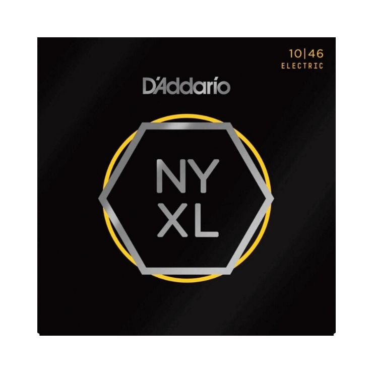 D'addario D'Addario NYXL Electric Guitar Strings, Regular Light (10-46)