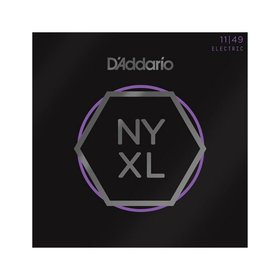 D'addario D'Addario NYXL Electric Guitar Strings, Medium (11-49)
