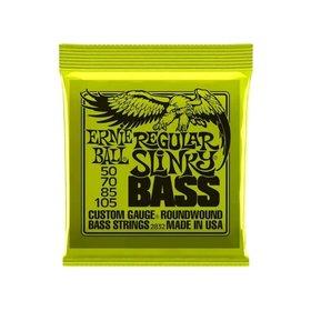 Ernie Ball Ernie Ball Regular Slinky Bass Guitar Strings (50-105)