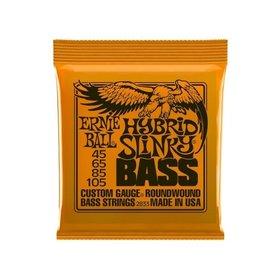 Ernie Ball Ernie Ball Hybrid Slinky Bass Guitar Strings (45-105)
