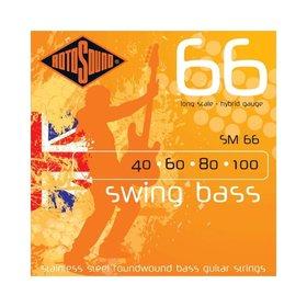 Rotosound Rotobass Swing Bass Stainless Steel Bass Guitar Strings (40-100)