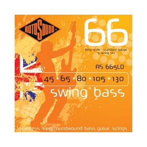 Rotosound Rotosound Swing Bass Stainless Steel Bass Guitar Strings (45-130)