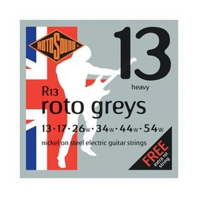 Rotosound Rotosound R13 Nickel Wound Electric Guitar Strings, Heavy (13-54)