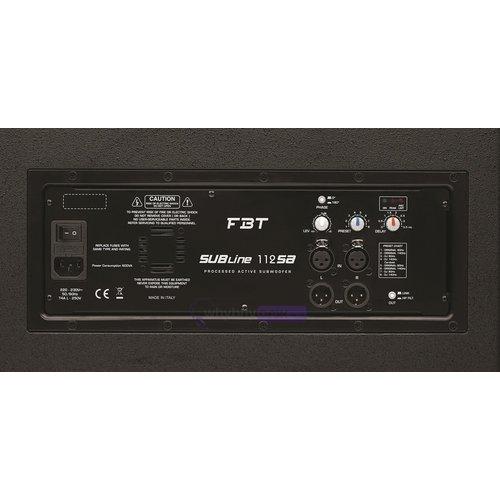 FBT FBT Subline 112SA Active sub woofer  700 Watts RMS