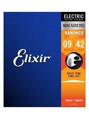 Elixir Elixir Nanoweb Nickel Electric Guitar Strings (09-42)