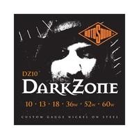 Rotosound DZ10 Dark Zone Nickel Wound Electric Guitar Strings (10-60)