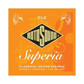 Rotosound Rotosound CL2 Superia Nylon Tie On Classical Guitar Strings Normal Tension