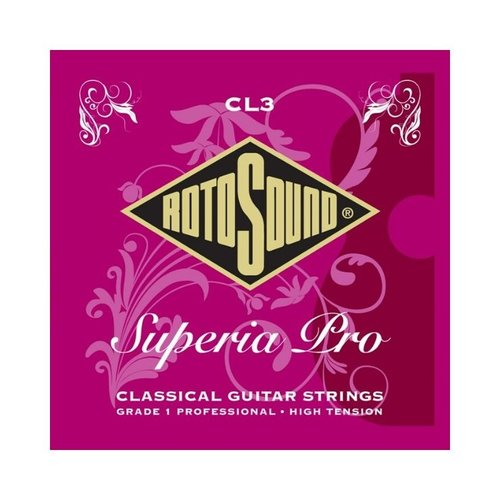 Rotosound Rotosound CL3 Superia Pro Tie On Classical Guitar Strings High Tension