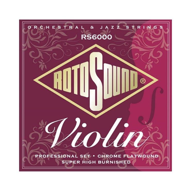 Rotosound Rotosound RS6000 Chrome Flatwound Violin Strings