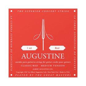 AUGUSTINE Augustine Classic Red Classical Guitar Strings - Regular Tension Trebles / Medium Tension Basses
