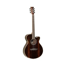 Tanglewood Tanglewood DBT-SFCE-AEB Exotic Ebony Electro Acoustic