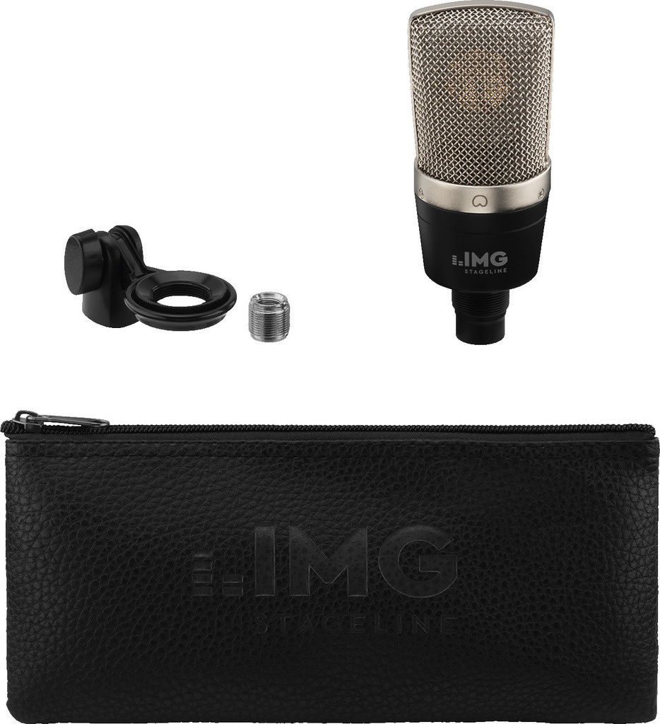 IMG Stageline IMG ECMS-60 Compact large diaphragm condenser Microphone