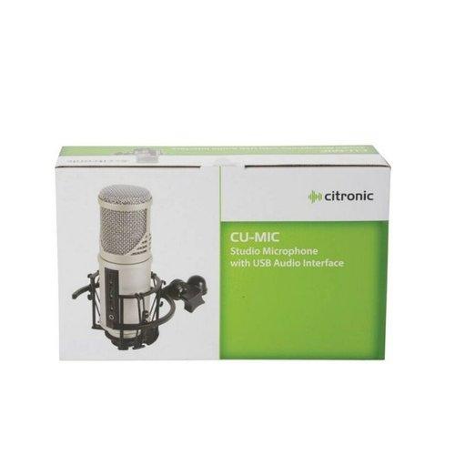 citronic Citronic Studio Microphone with USB Audio Interface