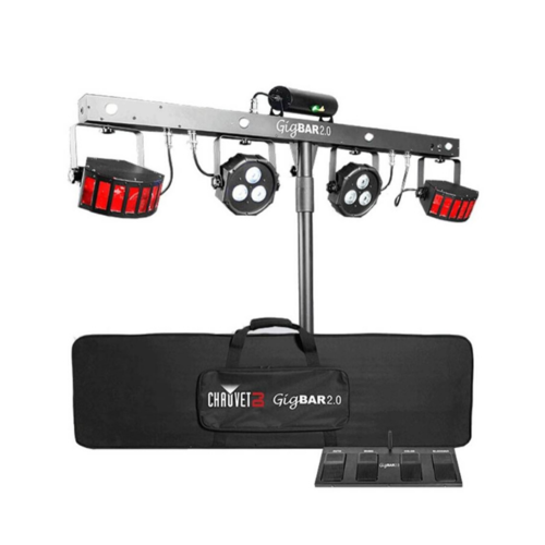 Chauvet GigBar v.2 All-In-One Lighting System with Stand, Footswitch and Remote