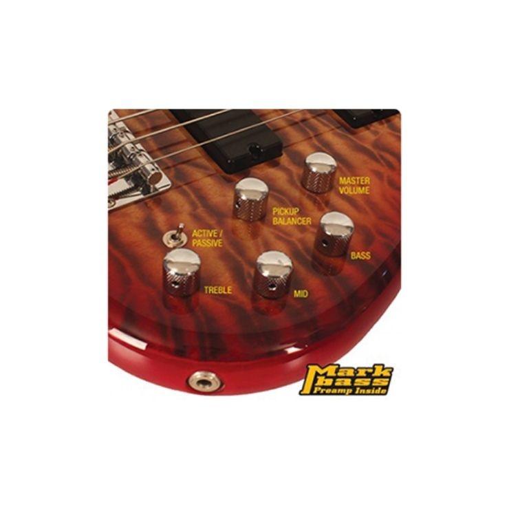 Cort Cort Action Deluxe Plus Cherry Red