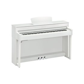 Yamaha Yamaha CLP-635 WH Clavinova Digital Piano (White)