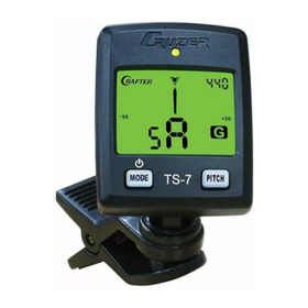 Crafter Crafter TS7 Chromatic Tuner