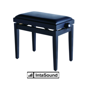 Soundsation sbh-100p-sbk Rise and Fall  Piano Bench Satin Black