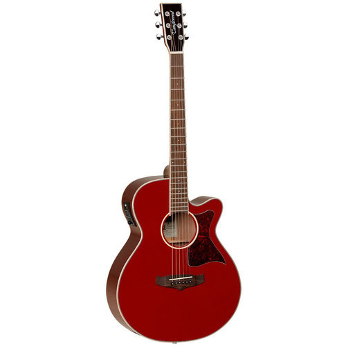 Tanglewood Tanglewood TW4 R Gloss Red Acoustic Guitar