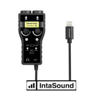 SMARTRIG + DI. 2-CH Interface, I-XLR, 6.3mm, TRS O-Lightning