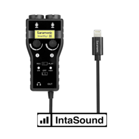 Saramonic SMARTRIG + DI. 2-CH Interface, I-XLR, 6.3mm, TRS O-Lightning