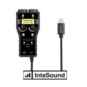 Saramonic SMARTRIG + DI. 2-CH Interface, I-XLR, 6.3mm, TRS O-Lightning
