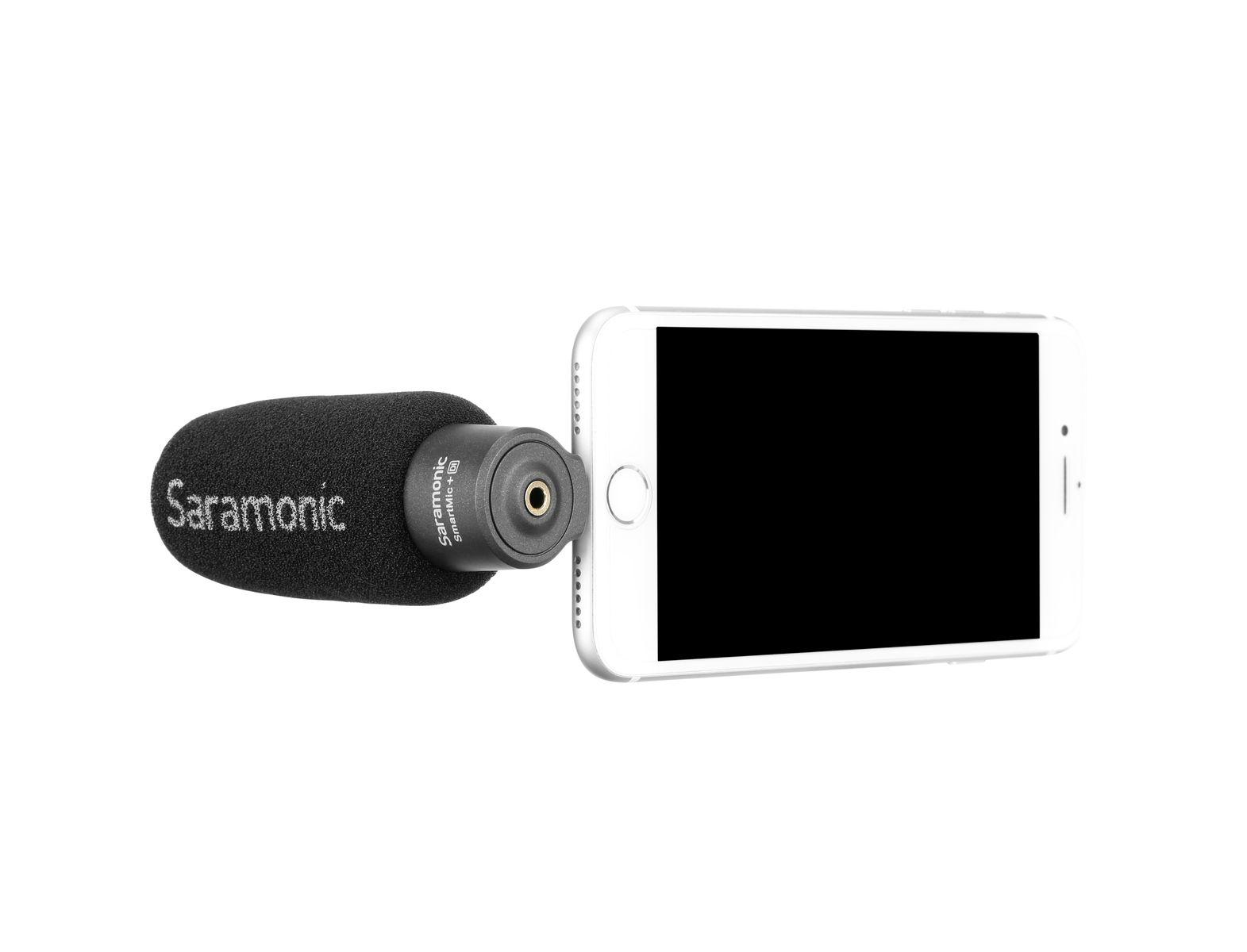 Saramonic SMARTMIC+ DI Smartphone Mic (lightning) with headphone pre amp