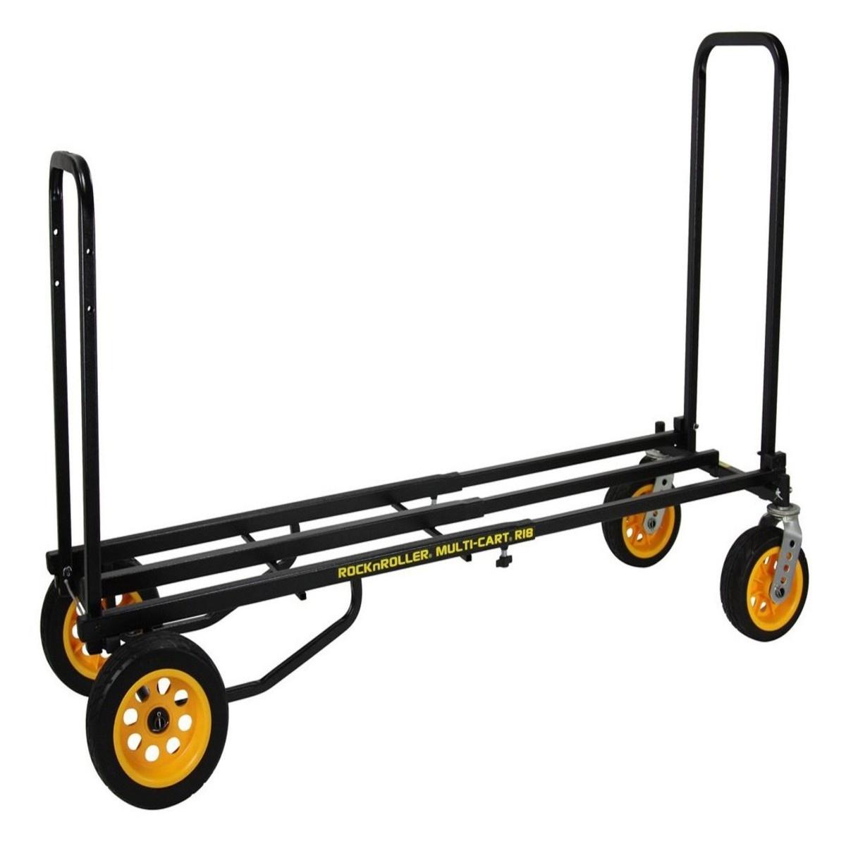 "Rock N Roller Rock N Roller MultiCart R18 ""Ground Glider Mega"", 700lb Capacity"